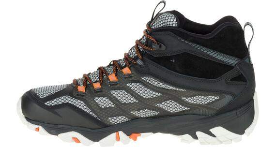 Merrell Moab FST Mid Gore-Tex Shoes Men Black